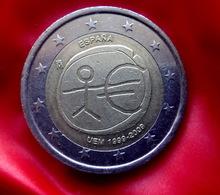 SPAIN 2 Euro  2009 EMU Coin  CIRCULATED - Espagne