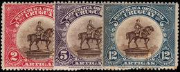 Uruguay 1923 Monument To Artigas Mounted Mint. - Uruguay