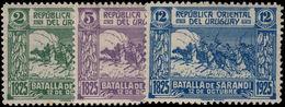 Uruguay 1925 Battle Of Sarandi Unmounted Mint. - Uruguay