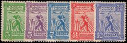 Uruguay 1933 Third Assembly Mounted Mint. - Uruguay