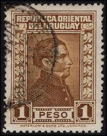 Uruguay 1929-33 1p Brown Waterlow Fine Used. - Uruguay
