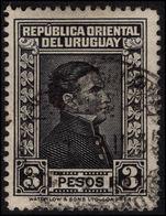 Uruguay 1929-33 3p Black Waterlow Fine Fine Used. - Uruguay