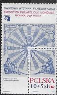POLONIA - POLSKA '73 - ESPOSIZIONE FILATELICA - FOGLIETTO NUOVO** (YVERT BF 58 - MICHEL BL 52) - Esposizioni Filateliche
