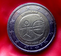 NEDERLAND , HOLAND 2 Euro  2009 EMU Coin  CIRCULATED - Pays-Bas