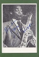 ARCHIE SHEPP  AUTOGRAPH / AUTOGRAMM   In Person Signed Photo 10x15 Cm  4x6 Inch - Autographes
