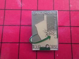 910a Pins Pin's  / Rare Et De Belle Qualité / THEME SPORTS / TOUR DE CORSE EN CANOE KAYAK - Canoë