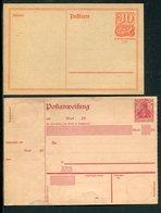 Liquidation / Versch. Bisher Einzelangebote Belege (12576-50) - Vrac (max 999 Timbres)