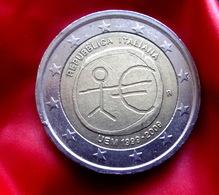ITALY  2 Euro   -  2009 EMU Coin  CIRCULATED - Italie