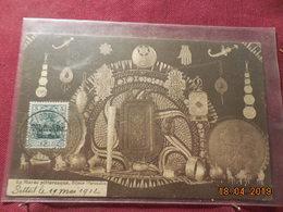 Carte De 1912 Avec Timbre Allemand Surchargé ( Marrokko) - Deutsche Post In Marokko