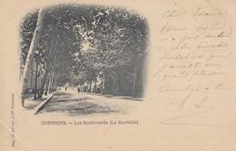 47 - Tonneins - Beau Plan Des Boulevards - ( La Gordalle ) - Tonneins