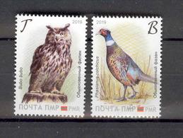 Transnistria 2019 Europa National Birds 2v** MNH - Moldova
