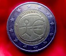 SLOVENIA  2 Euro   -  2009 EMU Coin  CIRCULATED - Slovénie