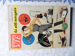 HORS SERIE SCIENCE ET VIE N° DE 1955 LES ARTS MENAGERS - Huis & Decoratie
