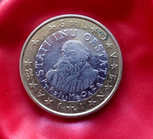 SLOVAKIA  1 Euro   -  2007 Year - Coin  CIRCULATED - Slovaquie