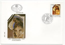 YUGOSLAVIA, FDC, 28.01.1993, COMMEMORATIVE ISSUE: SIRMIUM, TETRACHIA - 1992-2003 Federal Republic Of Yugoslavia