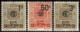 French Morocco. Sc #J46-J48. Postage Due. ** - Morocco (1891-1956)
