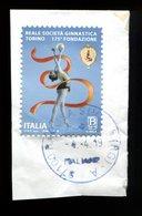 Italia Italy Italie Usat0 2019 175º Anniversario Della Fondazione Della Reale Società Ginnastica Torino - 6. 1946-.. Repubblica