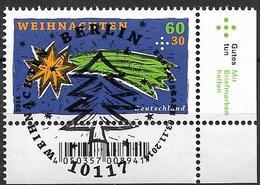 2014 Allem. Fed. Deutschland Germany Mi. 3108 FD-used Berlin EUR Weihnachten : Stern Von Bethlehem - [7] République Fédérale