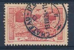 "HELVETIA - Mi Nr 142 - Cachet ""CHATEAU-D'OEX"" - (ref. 1316) - Suisse"