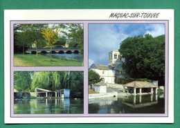 16 Magnac Sur Touvre - Pont, Lavoir , église ( Multivues ) - Other Municipalities