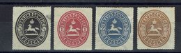 Allemagne - 1865 - N° 12/15 - Neufs - - Brunswick