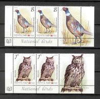 Transnistria 2019 Europa National Birds 2x2v** MNH + 2 Labels - Moldova