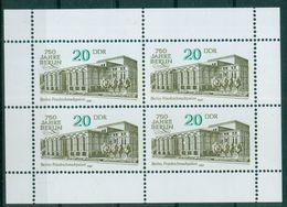 DDR 1987 / MiNr.    3078   Kleinbogen   ** / MNH   (s337) - Blocks & Sheetlets