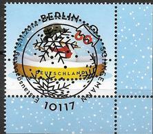 2014 Allem. Fed. Deutschland Germany Mi. 3111 FD-used Berlin EUR Weihnachten:   Schneemann - BRD
