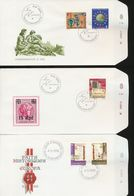 Luxembourg Youth Hostel Fed Deportation EUROPA Treaties Day Of Issue Cancel 1982 A04s - FDC