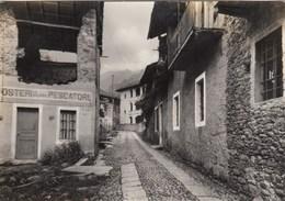 POSTUA-VERCELLI-FRAZIONI RONCOLE-OSTERIA DEL PESCATORE-CARTOLINA VERA FOTOGRAFIA CARTOLINA -NON VIAGGIATA ANNO 1955-960 - Vercelli