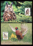 Transnistria 2019 Europa National Birds 2 Maxicards - Moldova