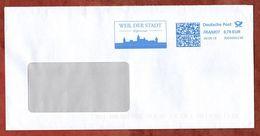 Brief, FRANKIT Francotyp-Postalia 3D080.., Weil Der Stadt Keplerstadt, 70 C, 2018 (72674) - [7] République Fédérale