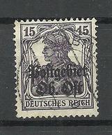 German Occupation Ober-Ost 1918 Michel 7 O - Occupation 1914-18