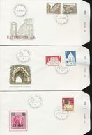 Luxembourg State Museum Synagogue Restored CASTLES Deportation Day Of Issue Cancel 1982 A04s - FDC