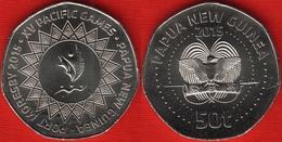 "Papua New Guinea 50 Toea 2015 ""XV Pacific Games"" UNC - Papoea-Nieuw-Guinea"