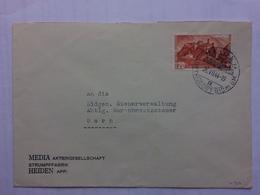 SWITZERLAND 1944 Cover Heiden Handstamp To Bern - Covers & Documents