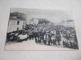 CPA ANIMEE - LA MAISON LILLET RECEVNAT UN CONVOI DE SAUTERNES  1903 - Vignes