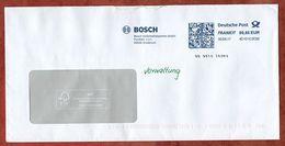 Brief, FRANKIT Pitney Bowes 4D101.. , Bosch Grasbrunn, 85 C, 2017 (72681) - [7] République Fédérale