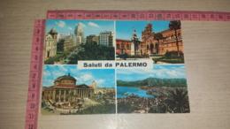 C-72380 SALUTI DA PALERMO PANORAMA VEDUTE - Palermo