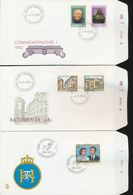 Luxembourg Apostle Of Lepers St Theresa Museum Synagogue Royal Wedding Day Of Issue Cancel 1981 1982 A04s - FDC
