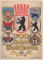 DR Anlasskarte 700 Jahre Stadt Berlin SST - Briefe U. Dokumente
