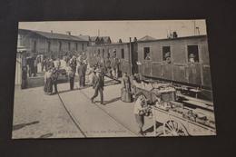 Carte Postale 1900 Le Havre Le Train Des émigrants - Station