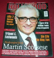 Martin Scorsese HOLLYWOOD Croatian March 2005 VERY RARE - Magazines