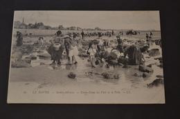 Carte Postale 1900 Le Havre Sainte Adresse Notre Dame Des Flots Pêche - Le Havre
