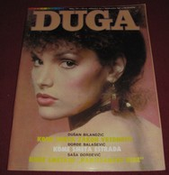 Mary Elizabeth Mastrantonio  DUGA Yugoslavian January 1987  VERY RARE - Magazines