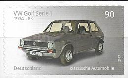 2017 Allem. Fed. Mi. 3301 **MNH VW Golf Serie 1 - [7] Federal Republic