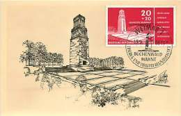 Buchenwald  MiNr 538 - Maximum Cards