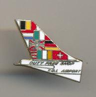 DUTY FREE SHOP  TOL AIRPORT - Avions