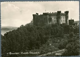 °°° Cartolina N. 837 Bracciano Castello Odescalchi Viaggiata °°° - Viterbo