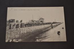 Carte Postale 1900 Le Havre Digue Nord Pêche A La Ligne - Autres